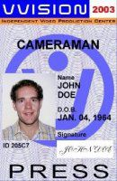 CAMERAMAN PRESS ID  DRIVER LICENSE ORIGINAL FORMAT, DESIGN SPECIFICATIONS, NOVELTY SECURITY CARD PROFILES, IDENTITY, NEW SOFTWARE ID SOFTWARE CAMERAMAN PRESS ID  driver