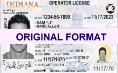 INDIANA FAKE LICENSE, SCANNABLE INDIANA FAKE DRIVERS LICENSE AND INDIANA FAKE DRIVING LICENSE