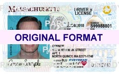 massachusetts fake id scannable with hologram
