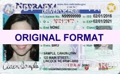 NEBRASKA FAKE IDS SCANNABLE FAKE NEBRASKA ID WITH HOLOGRAMS