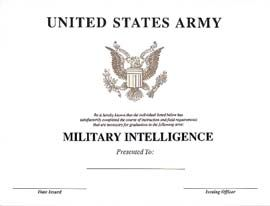ARMY INTELLIGENCE CERTIFICATE DRIVER LICENSE ORIGINAL FORMAT, DESIGN SPECIFICATIONS, NOVELTY SECURITY CARD PROFILES, IDENTITY, NEW SOFTWARE ID SOFTWARE ARMY INTELLIGENCE CERTIFICATE driver